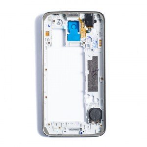 Back Housing for Samsung Galaxy S5 (G900A / G900T) - White / Silver