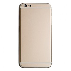 "Back Housing for iPhone 6 Plus (5.5"") (Generic) - Gold"