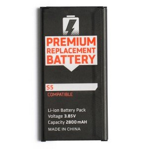 Battery for Samsung Galaxy S5 / S5 Active (MDSelect)