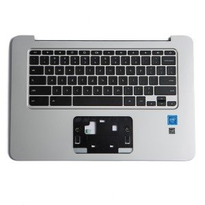 Palmrest with Keyboard (OEM Pull) for HP Chromebook 14 G3 / G4