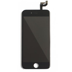 "LCD & Digitizer Frame Assembly for iPhone 6S (4.7"") (MDSelect) - Black"