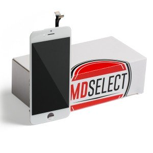 "LCD & Digitizer Frame Assembly for iPhone 6 (4.7"") (MDSelect) - White (Bulk pricing available for sets of 5 screens)"
