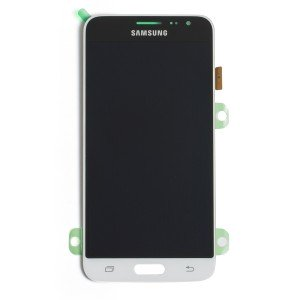 OLED Display Assembly for Galaxy J3 (J320) (OEM - Service Pack) - White