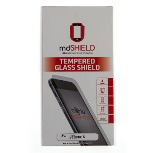 Tempered Glass Shield (0.33mm) for iPhone X (MD Packaging)