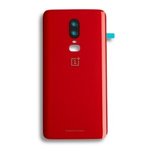 Back Cover for OnePlus 6 - Red