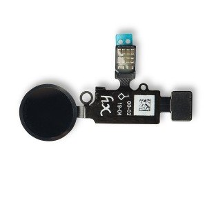 HX Home Button Flex Cable for iPhone 7 / 7+ / 8 / 8+ - Black (Universal - V3)