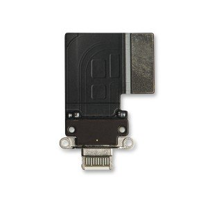 "Charging Port Flex Cable for iPad Pro 11"" (1st Gen) / iPad Pro 12.9"" (3rd Gen) - Silver"