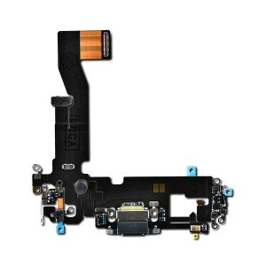 Charging Port Flex with Sub-Board for iPhone 12 Pro (PRIME) - Graphite