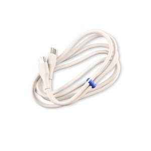 USB C-to-USB C Data Cable - White
