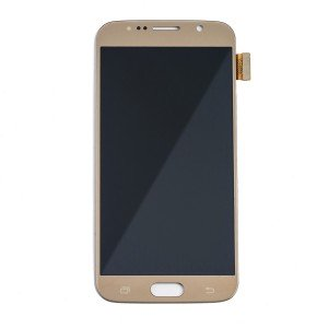 OLED Display Assembly for Galaxy S6 (OEM - Certified Refurbished) - Gold