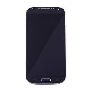 LCD & Digitizer Frame Assembly for Samsung Galaxy S4 (I545 / L720 / R970) (MDSelect - Generic) - Black