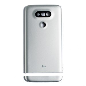 Back Cover for LG G5 (Universal - No Carrier Logo) - Silver