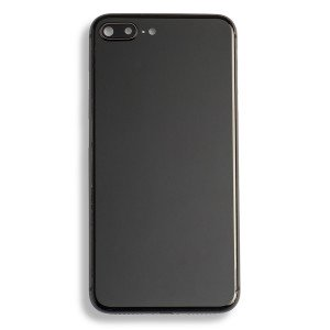 Back Housing w/ Back Glass for iPhone 8 Plus (Generic) - Space Gray