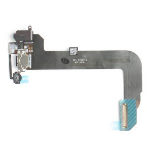 Charging Port Flex Cable (Charging Port & Audio Jack & Home Button Flex & Mic) for iPod Touch 6th Gen - Black
