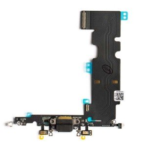 """Charging Port Flex Cable for iPhone 8 Plus (5.5"""") - Space Gray"""