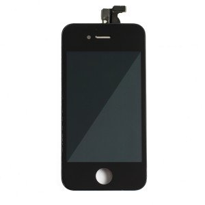 LCD & Digitizer Frame Assembly for iPhone 4S - Black