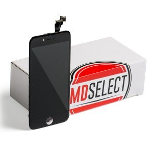 "LCD & Digitizer Frame Assembly for iPhone 6 (4.7"") (MDSelect) - Black (Bulk Pricing Available)"