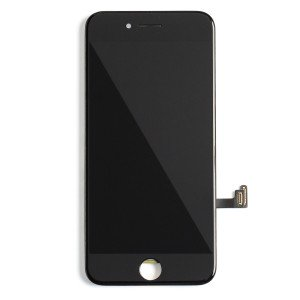 "LCD & Digitizer Frame Assembly for iPhone 7 (4.7"") (PrimeParts - Premium) - Black"