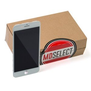 """LCD & Digitizer Frame Assembly for iPhone 7 Plus (5.5"""") (MDSelect) - White"""