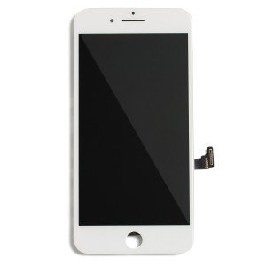 """LCD & Digitizer Frame Assembly for iPhone 8 Plus (5.5"""") (MDBasic) - White (Bulk pricing available for sets of 5 screens)"""