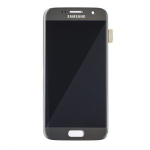 LCD & Digitizer for Samsung Galaxy S7 (Prime - OEM) - Silver Titanium