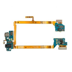 Main Flex Cable (w/ Audio Jack & Charging Port & Microphone) for LG G2 (VS980)