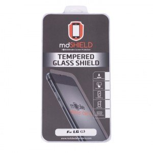 Tempered Glass Shield (0.33mm) for LG G3 (MD Packaging)
