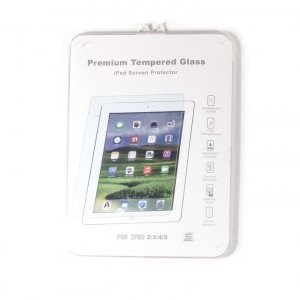 Tempered Glass Shield (0.33mm) for iPad Air / iPad Air 2 (MD Packaging)