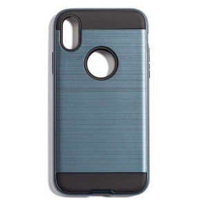 Tough Fashion Style Case for iPhone X - Blue