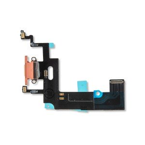 Charging Port Flex Cable for iPhone XR - Coral