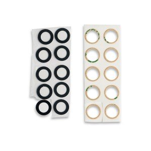 Rear Camera Lens with Adhesive for Google Pixel 3 XL - 10 pack