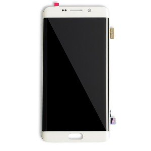 OLED Display Assembly for Galaxy S6 Edge Plus (OEM - Certified Refurbished) - White Pearl