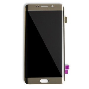 OLED Display Assembly for Galaxy S6 Edge Plus (OEM - Certified Refurbished) - Gold Platinum