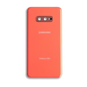 Back Glass with Adhesive for Galaxy S10e (OEM - Service Pack) - Flamingo Pink
