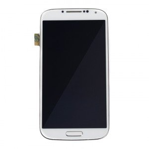 LCD & Digitizer Frame Assembly for Samsung Galaxy S4 (I337 / M919 / L720T) (MDSelect - Generic) - White