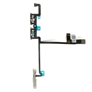 Volume Flex Cable with Mounting Brackets for iPhone X